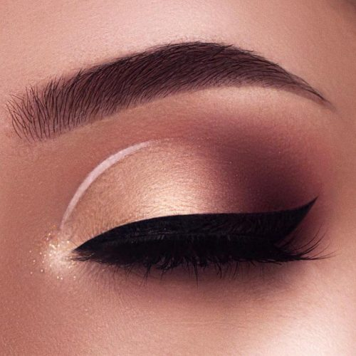Fall Elegance Eyes Makeup Ideas picture 2