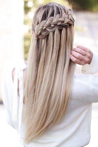 Five Strand Braid Hairstyle #braids