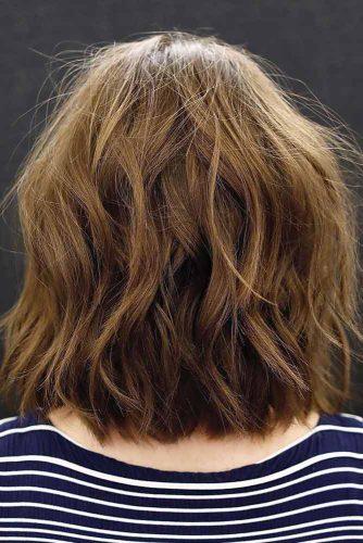 Fun And Messy Medium Shag #shaghairstyles #shaghaircuts #mediumlength #hairstyles #brownhair