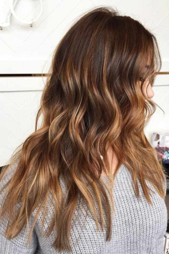 Glory Dark Brown Hair with Copper Hue
