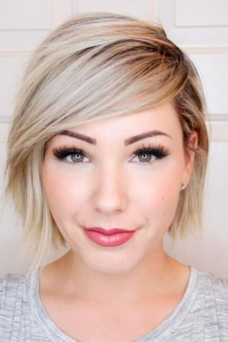 Gorgeous Short Hairstyles for Round Faces picture 1