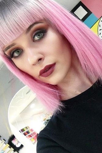 Hairstyles for Bangs Lover picture 1