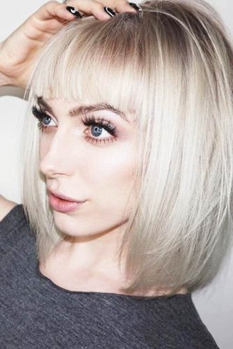 Hairstyles for Bangs Lover picture 3