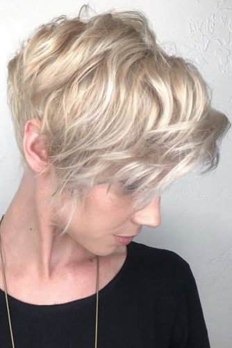 Hairstyles for Wavy Pixie Hair picture2