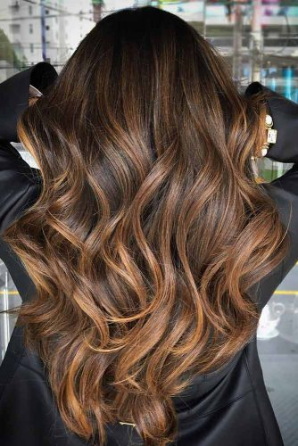 Highlighted Brown Hair picture1