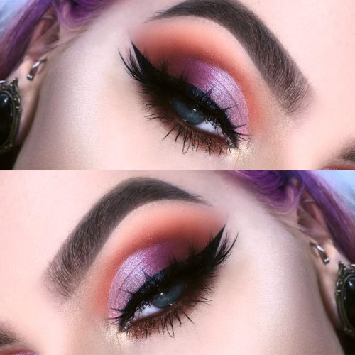 Hottest Makeup Looks with Purple Eyeshadow picture 2