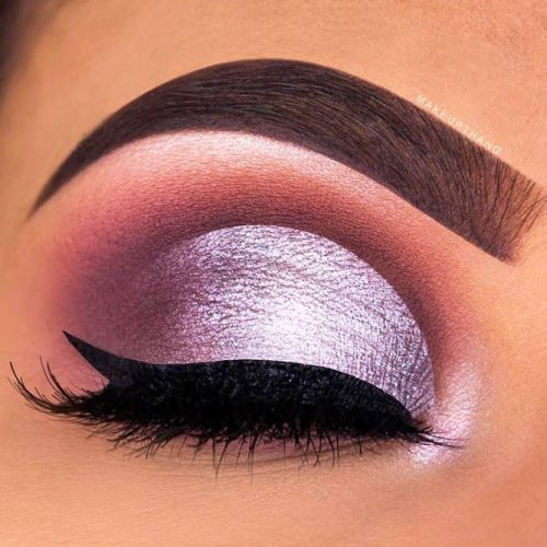 Hottest Makeup Looks with Purple Eyeshadow picture 4