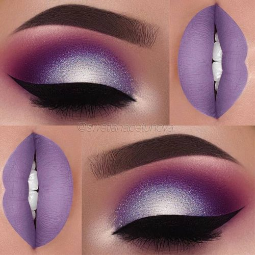 Hottest Makeup Looks with Purple Eyeshadow picture 5