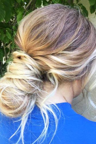 Incredibly Messy Bun picture 2