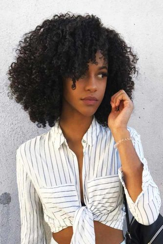 Kinky Bob Hairstyles for Natural Hair Picture 3