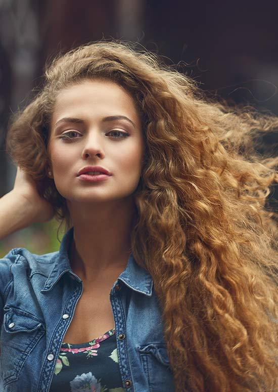 Latest Hairstyles For Long Hair - Bed Head Curls