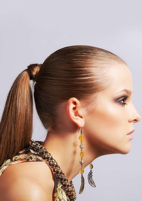 Latest Hairstyles For Long Hair - Knotted Ponytail