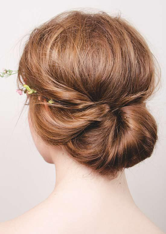 Latest Hairstyles For Long Hair - Low Knot