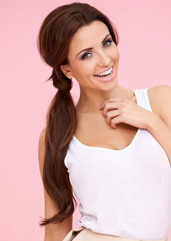 Latest Hairstyles For Long Hair - Perky Side Pony