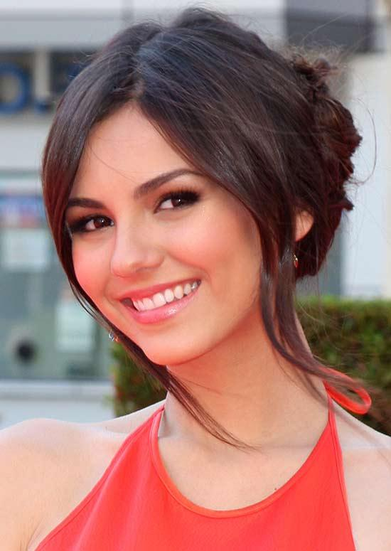 Latest Hairstyles For Long Hair - Pinned Back Hair