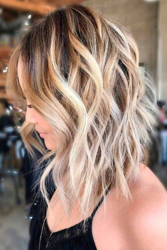 Layered Cut with Ombre Highlights