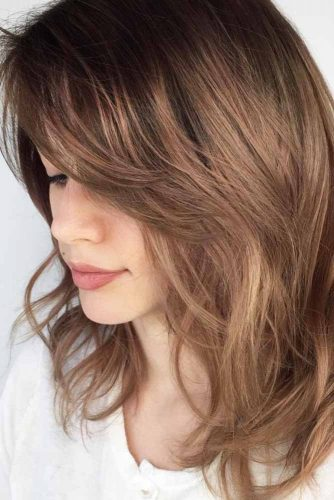 Layered Haircut with Side Bang picture 3