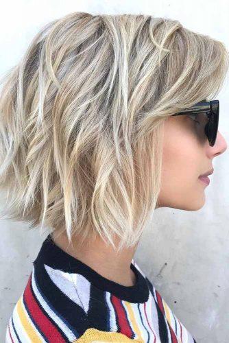 Layered Haircuts for Thin Hair picutre3
