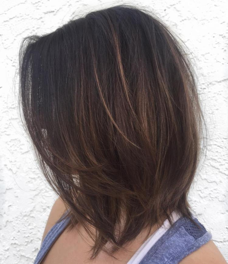 Layered Lob For Fine Hair Hairs London