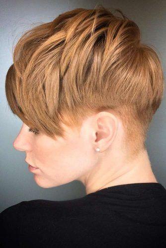 Layered Pixie Cut #undercutpixie #pixiehaircut #undercut #haircuts
