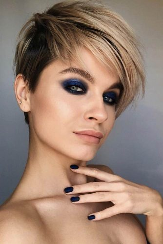 Layered Pixie For A Fresh Look #shorthaircuts#shorthairstyles #pixie