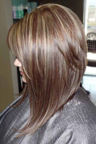 Long A-Line Haircut with Side Bangs picture1