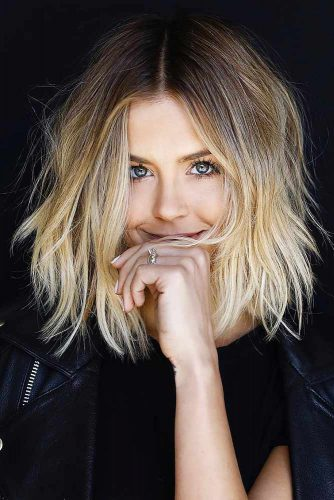 Long Bob Haircut with Ombre Picture 5
