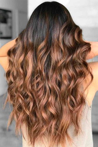 Long Brown Hair With Layers #layeredhaircuts #brownhair