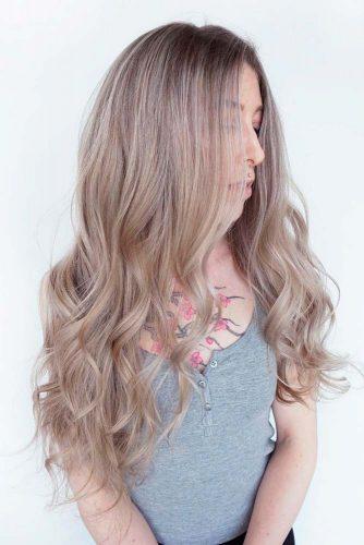 Long Layered Hair With Wavy Ends #longhair #wavehair