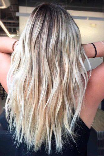 Long Layered Haircut With Balayage #longhair #balayagehairstyles