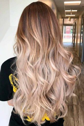 Long Layered Hairstyle With Ombre #longlayeredhair #ombrehair