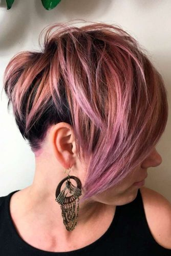 Long Layered Pixie