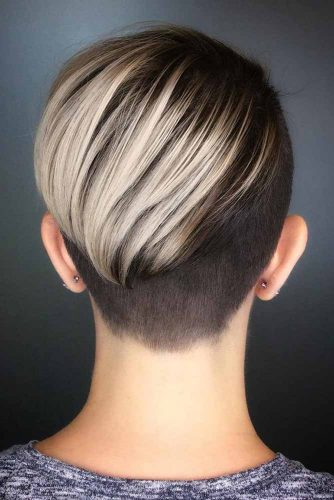 Long Pixie With Undercut #shorthaircuts#shorthairstyles #undercut