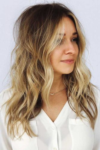 Long Wavy Shag For Thin Hair #longhair #wavyhair #layeredhair #shaggy