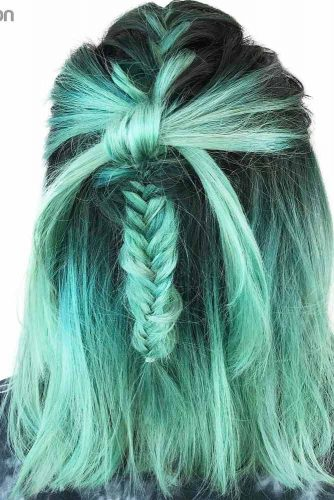 Lovely Braided Bob Hairstyles picture 2