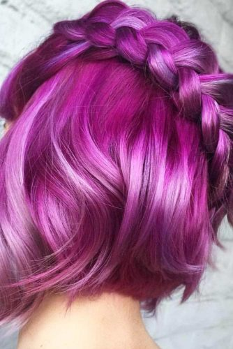 Lovely Braided Bob Hairstyles picture 3