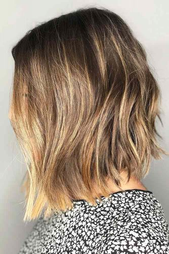 Lovely Hairstyles For Shoulder Length Hair Angled Hairs London