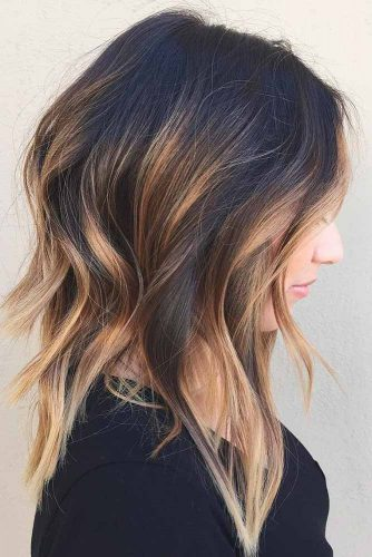 Lovely Medium Hair Styles With Layers picture 3
