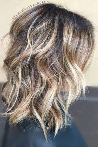 Lovely Medium Hair Styles With Layers picture 6