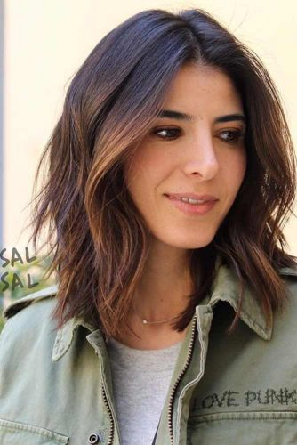Lovely Medium Length Layered Hair Styles Picture 1 Hairs London