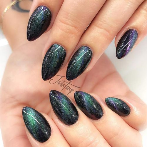 Magic Galaxy Nails Designs for Almond Nails Picture 3