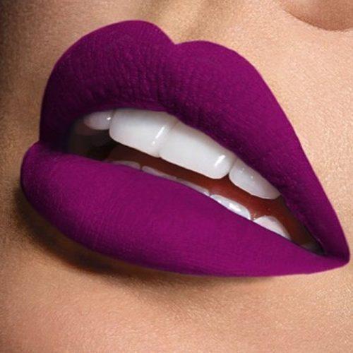 Matte Purple Lipstick Shades picture 2