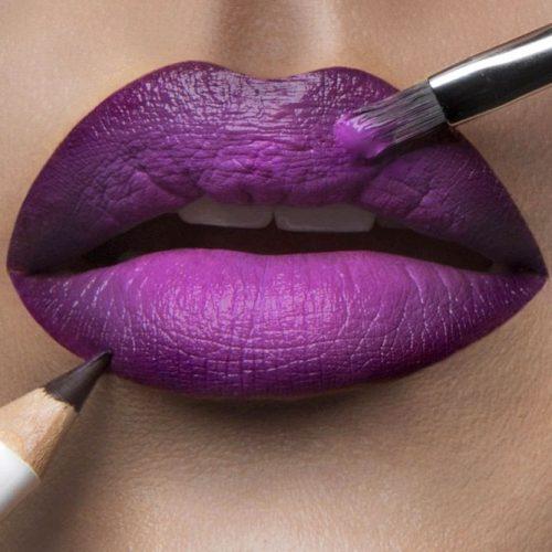 Matte Purple Lipstick Shades picture 3