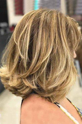 Messy Layered Medium Length Haircuts #mediumlengthhaircuts #mediumhair #haircuts #longbob