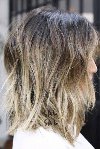 Messy Lob Hairstyles picture1