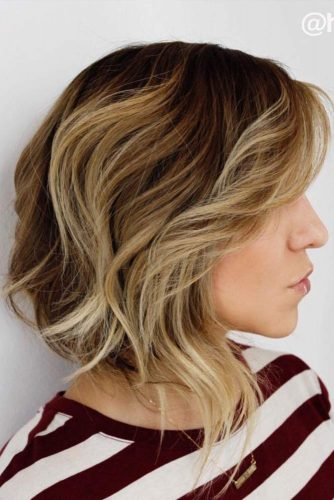 Messy Lob Hairstyles picture2