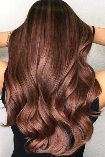 Mocha Highlights for Dark Brown Hair picture3