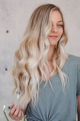 Natural Blonde Hair With Layers #blondehair #longhair