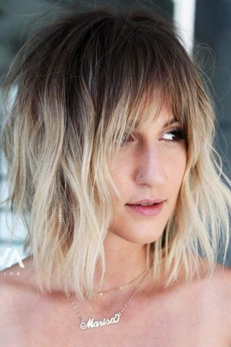 Layered Hair With Bangs For Thin Hair 91