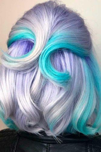 Neon Ombre Curls